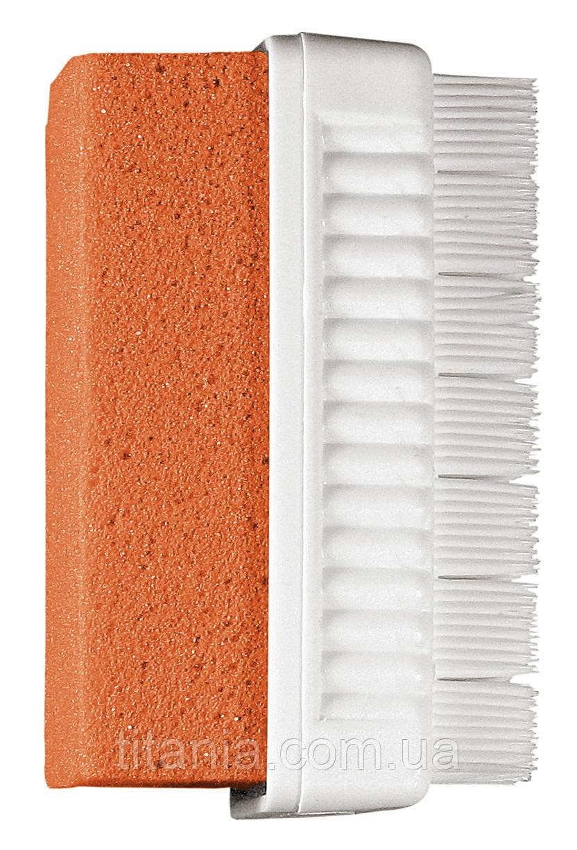 Пемза - щеточка педикюрная TITANIA art.7065R