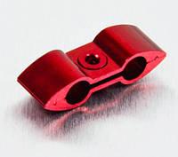 Алюминиевый разделитель шлангов Pro-Bolt, красный