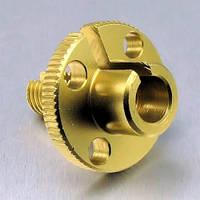 Алюминиевый регулятор тросика (1шт) Pro-Bolt M10, золотой