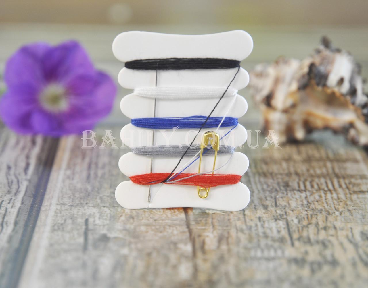 Швейный набор одноразовый для гостиниц (100 шт/уп)