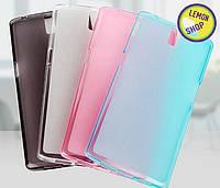 Защитный силиконовый чехол LG L7 II Dual/P715 Розовый