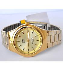 Часы Q&Q Q836-010Y оригинал классические наручные часы, фото 3