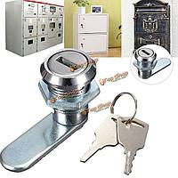 Камерой замок замок ящик стола с 2-мя ключами для файла почтового ящика аркады шкаф шкаф