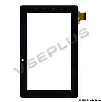 Тачскрин (сенсор) под китайский планшет Freelander PD10, PD20, DR1551-А, BH-0013-070-v0 zy-11, черный