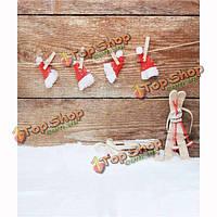 3x5 футов 1.5x1m винил рождественские темы снег фотостудия реквизит фон