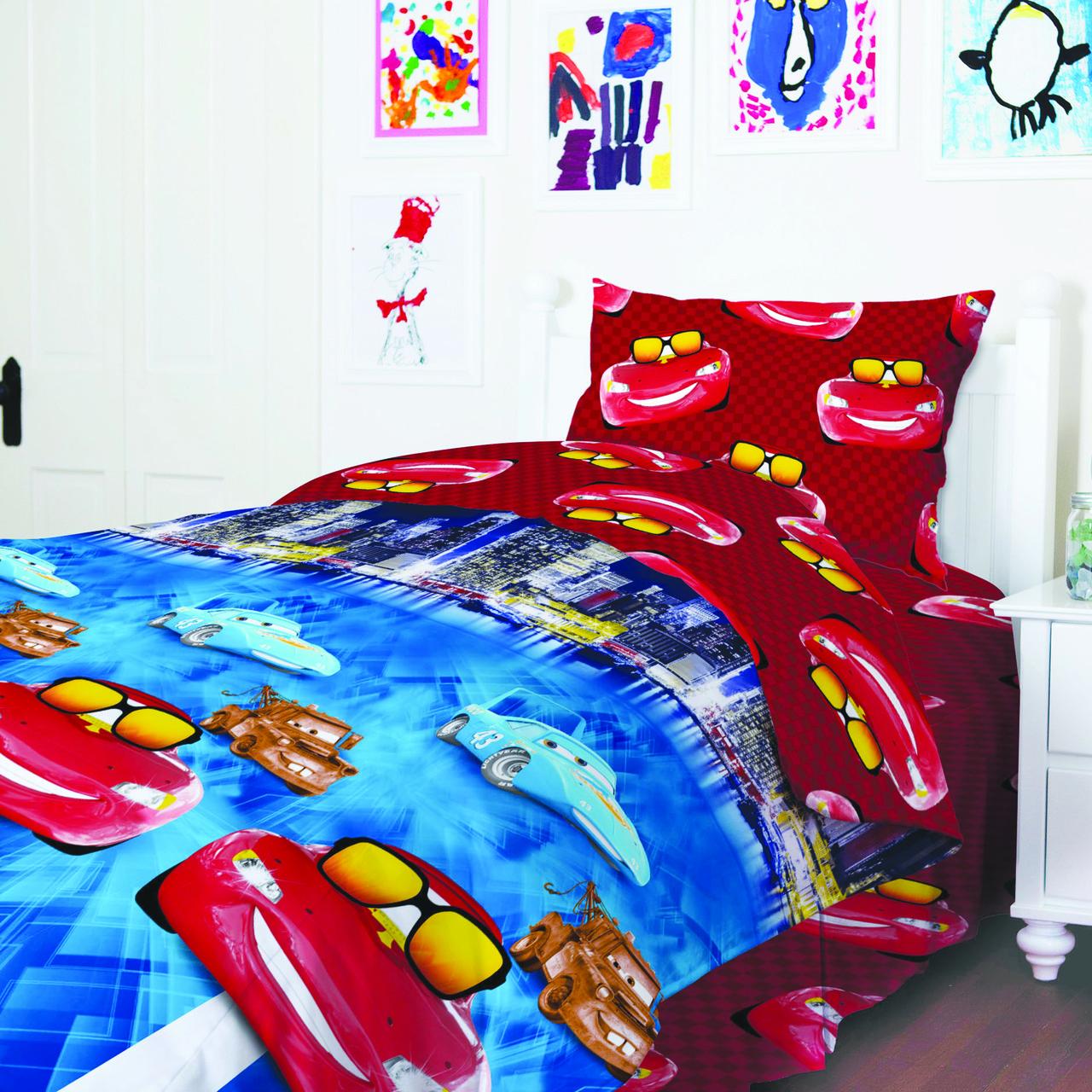 Комплект постельного белья ТЕП Тачки_949 Подростковый