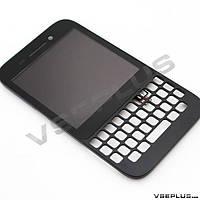 Дисплей (экран) Blackberry Q5, черный, с сенсорным стеклом