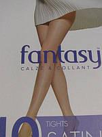 Женские капроновые колготы Fantasy SATINE 40 den (разные цвета), 41/56