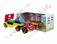 """Іграшка """"Автовоз з набором машинок ТехноК"""", арт.3909"""