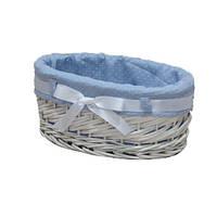 Корзина для белья плетеная Alice S белая AWD02241080