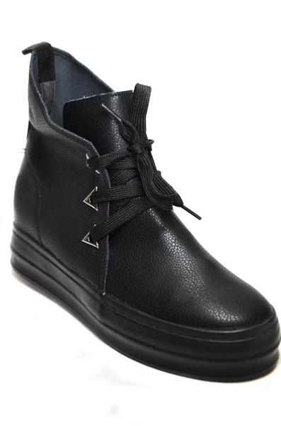 Женские ботинки (арт.W-18 черн.)
