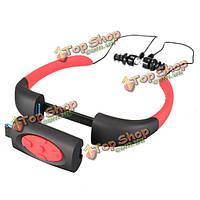 4Гб IPX8 водонепроницаемый FM-радио Bluetooth  спорт музыкальный проигрыватель MP3 дайвинг плавание