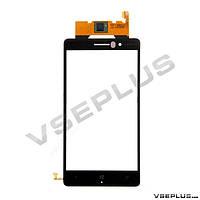 Тачскрин (сенсор) Nokia Lumia 830, черный