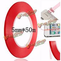5мм прозрачный скотч термостойкий двусторонняя для Samsung iPhone ремонта сотовых телефонов