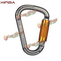 Xinda форма груши PRO автоматические пряжки безопасности скалолазание карабины мастер замок оттяжку наружного оборудования