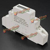 Dds5188 ЖК однофазный счетчик электроэнергии ваттметр на DIN рейку метр