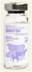 Эвинтон для кошек, собак и других животных от ОРЗ и вирусов