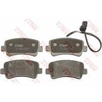 Тормозные колодки задние (диск) на Рено Мастер III 2010-> TRW  GDB1903