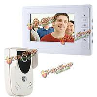SYSD sy819fc11 7-дюймов tft окрашивает видео дверной монитор интеркома дверного звонка телефона с комплектом камеры ночного видения