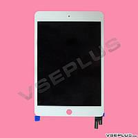 Дисплей (экран) Apple iPad mini 4, белый, с сенсорным стеклом