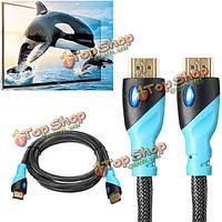 Vention c01 темнокожий мужчина на 1.5м к мужскому HDMI поймал в сети кабельную линию сетки для планшет xbox PlayStation 3 PS3 DVD PC