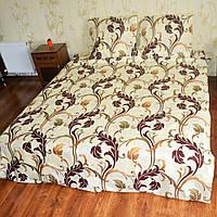 Хлопковый полуторный комплект постельного белья