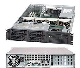 Сервер Supermicro SuperServer SYS-CSE-822T-1230