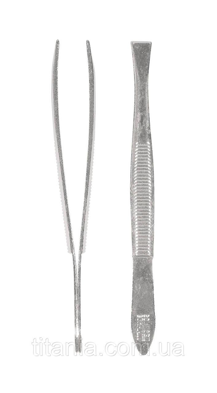Пінцет прямий TITANIA 1060/A
