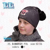 Шапочка для мальчика модель 3-003121