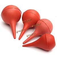 1шт красный резиновый шарик всасывания ухо шприц стиральная лампы лаборатория инструмент 30мл/60мл/90мл/120мл