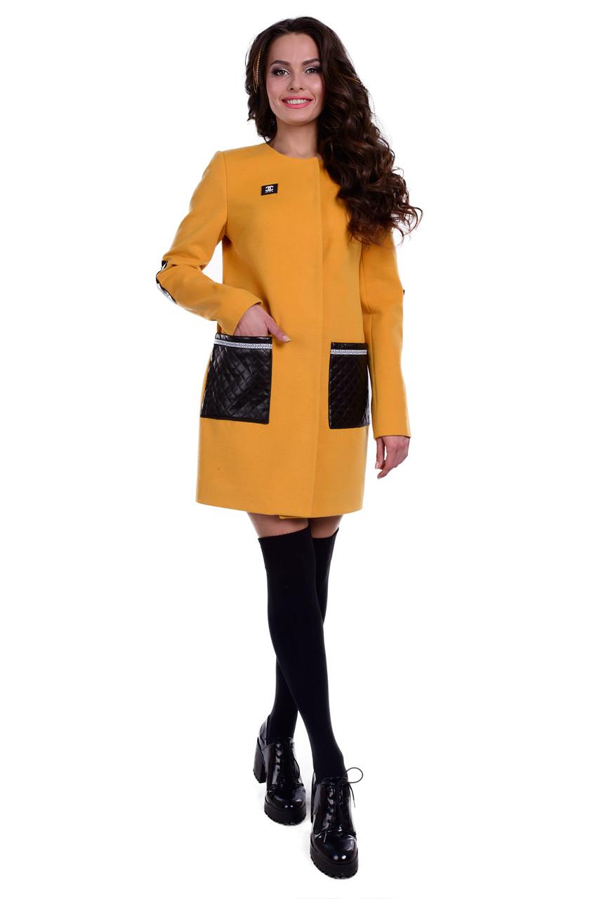 Женское качественное демисезонное пальто арт. Ричи 6356