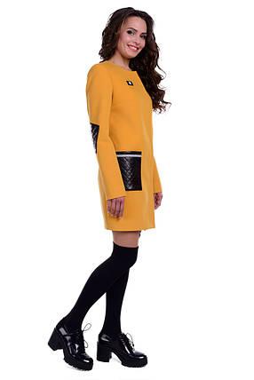 Женское качественное демисезонное пальто арт. Ричи 6356, фото 2