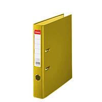 Папка-регистратор Esselte Эко A4, 50 мм, желтый (81191)