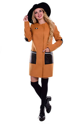Женское качественное осеннее пальто арт. Ричи 5614, фото 2