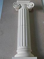 Архитектурный элемент Колонна каннелированная (секция)