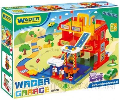 Детская парковка Гараж с дорогой Wader (50400), фото 1