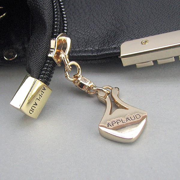 2c36ad3b4b77 Сумка-клатч Applaud кожаная черная лаковая, цена 1 146 грн., купить в  Днепре — Prom.ua (ID#365201790)