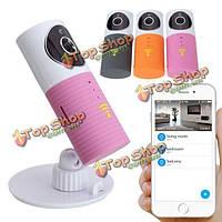 Собака-1w ir ночное видение беспроводной уход за младенцем монитора видеокамеры аудио безопасности Wi-Fi на 720 пунктов