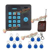 Дверной диспетчер sysd sy5100rid управления доступом abs дистанционное управление клавиатуры RFID-считывателя случая 10 удостоверений личности