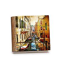Шкатулка-книга на магните с 9 отделениями Венецианская улочка, фото 1