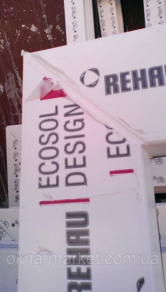 Окна ПВХ Rehau Ecosol, фирма