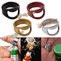 Палец кольцо из нержавеющей стали кольцо-форма бутылки пива открывалка для пива инструмента бар