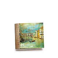 Шкатулка-книга на магните с 4 отделениями Чарующая Венеция