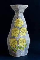 Ваза Мадра желтые цветы