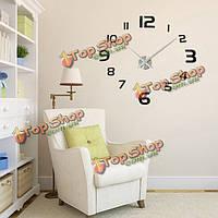 3D DIY современный Ева круглое число настенные часы стикер украшения дома