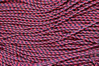Шнур 5мм с наполнителем (100м) красный +синий, фото 1