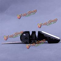 4в1  передач керамической зубчатого лезвия ножа точилка точильный камень инструмент выживания мясорубки