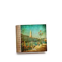 Шкатулка-книга на магните с 4 отделениями Венецианская пристань, фото 1