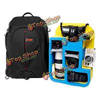 Портативный Caden K8 водонепроницаемый рюкзак на плечо сумку для Canon Nikon Pentax DSLR камеры объектива видеокамеры