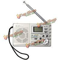 Каида К555 AM FM рация мини Главная Путешествия карман ЖК-цифровой дисплей будильника